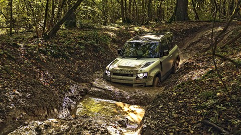 We tested Land Rover ClearSight tech on the new Defender at Eastor Castle