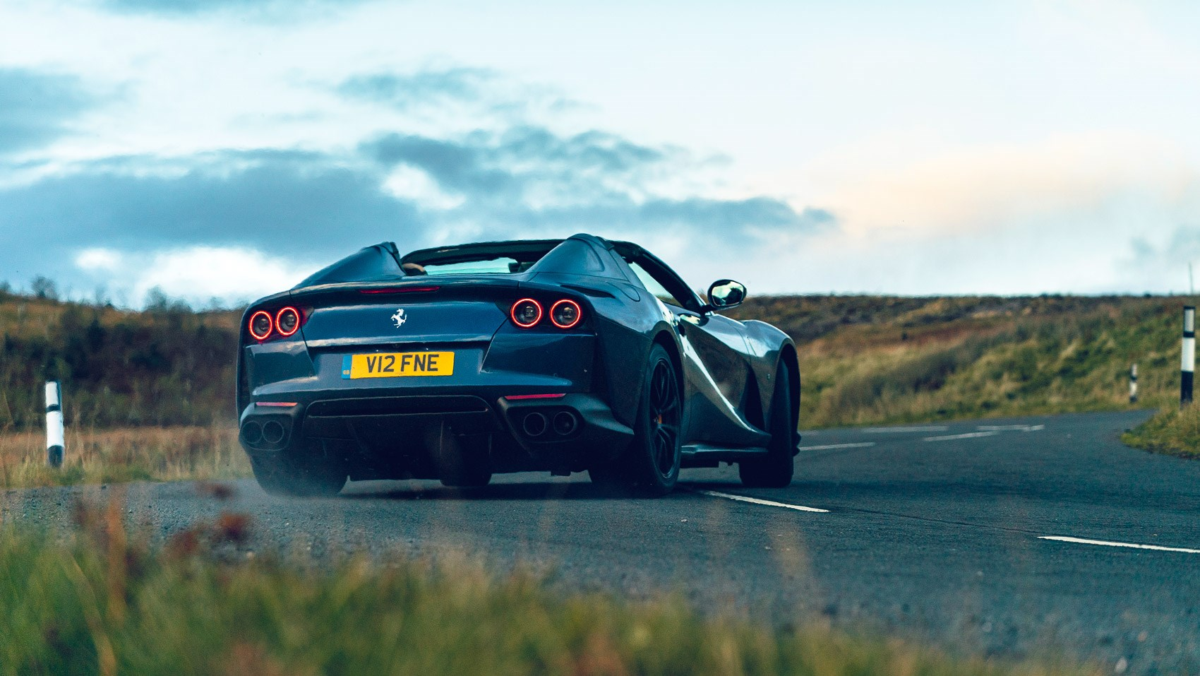 812 GTS rear drift