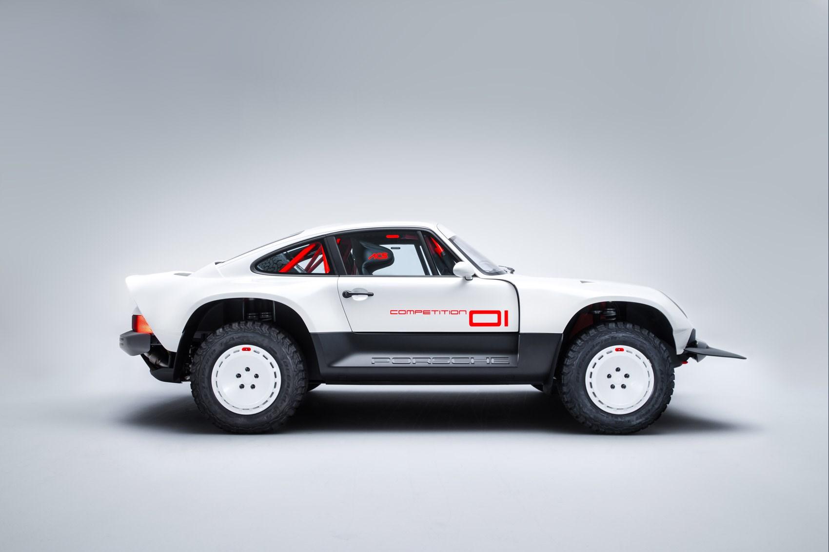 Singer reimagines the Porsche 911 as an all-terrain racer