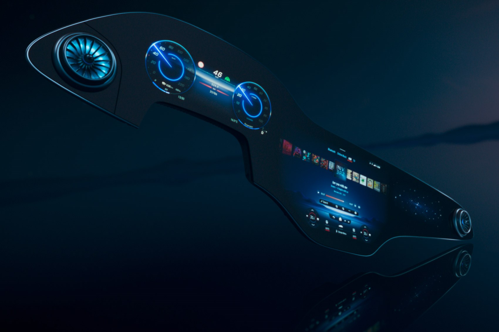Mercedes-Benz EQS: Next-gen MBUX Hyperscreen infotainment revealed