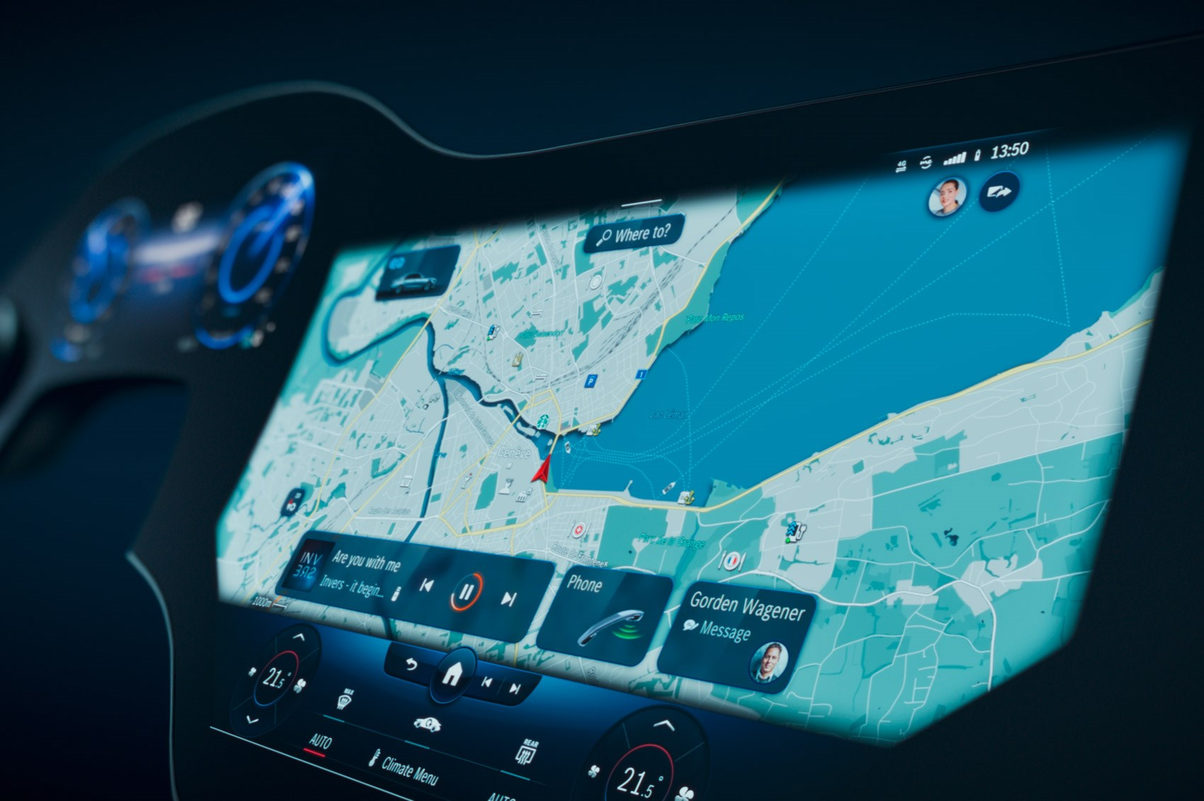 MBUX Hyperscreen meet the new Mercedes EQS infotainment