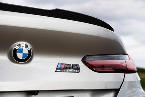 BMW M8 GC LTT badge