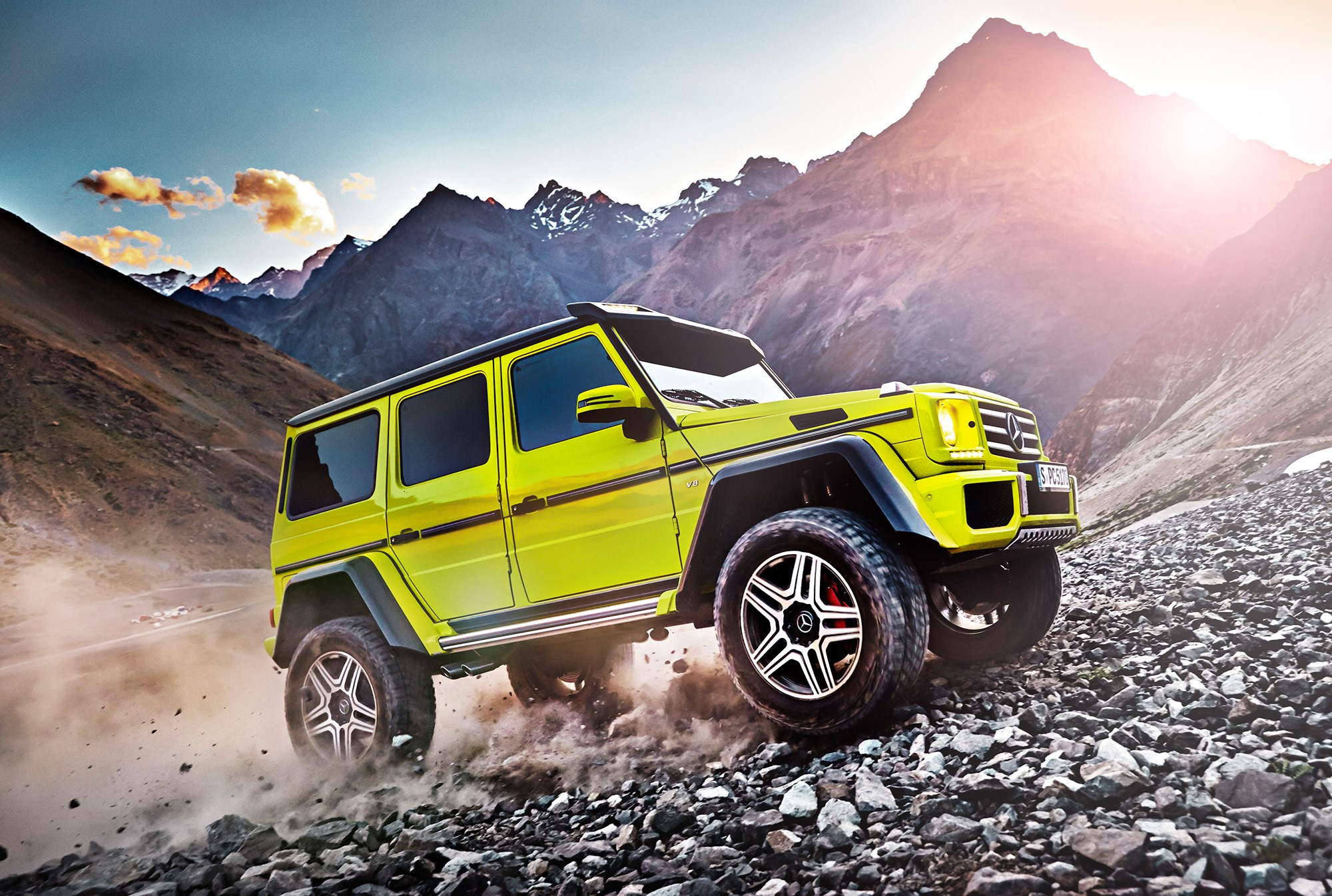 mercedes g500 4x4 2015 the ultimate off roader by car magazine. Black Bedroom Furniture Sets. Home Design Ideas