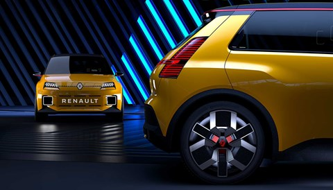 New electric Renault 5 prototype