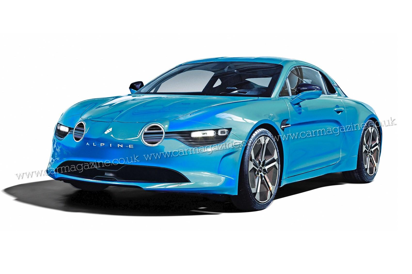 Alpine to go electric with new EV sports car