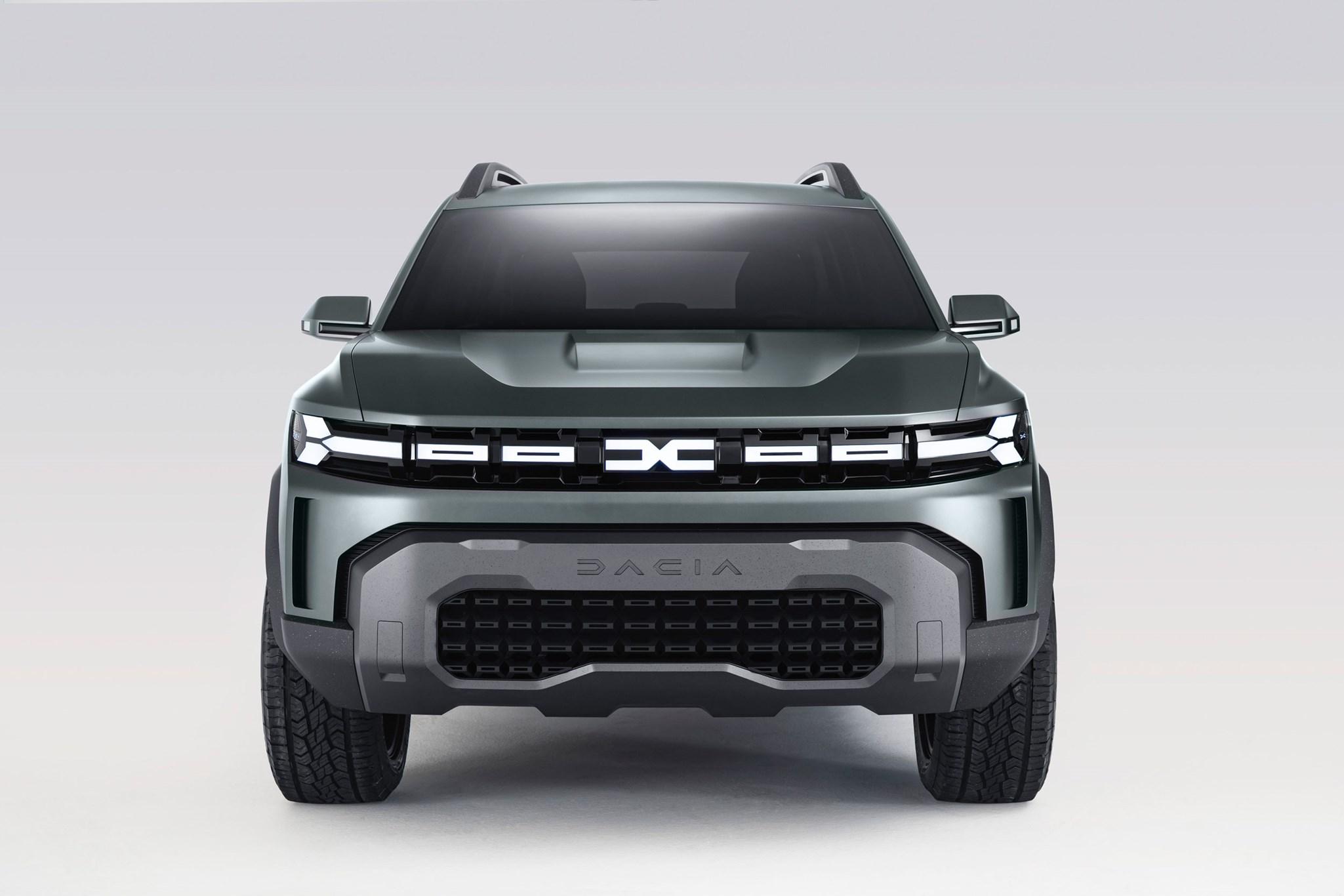 Dacia Bigster: C-segment SUV for 2025 revealed