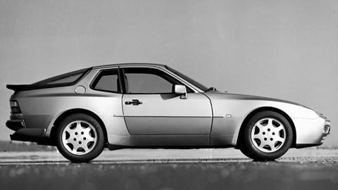 Porsche 944 side