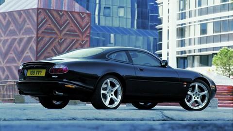 Jaguar XKR rear