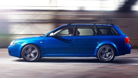 Audi RS6 C5 side