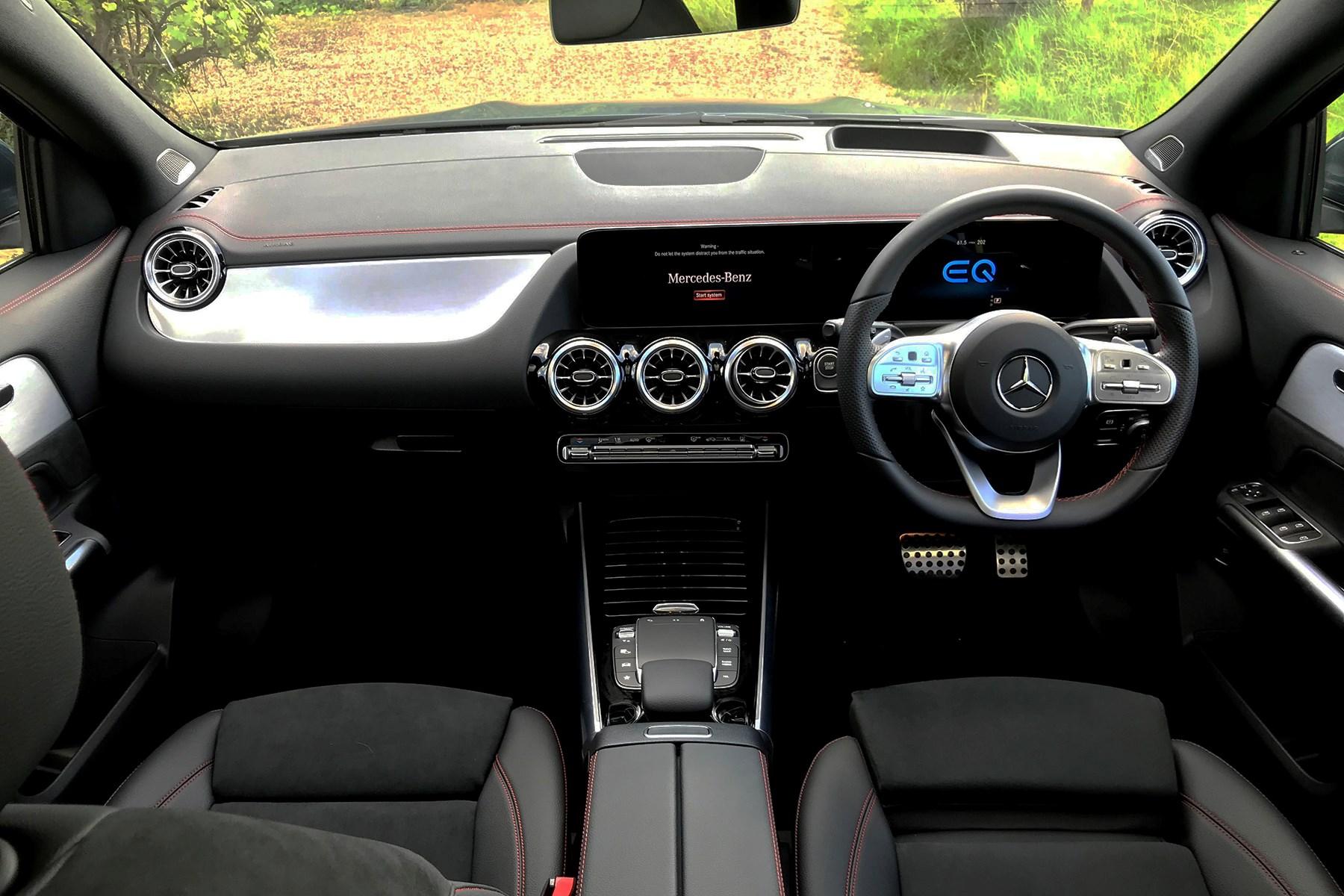 Mercedes-Benz EQA 250 (2021) interior view