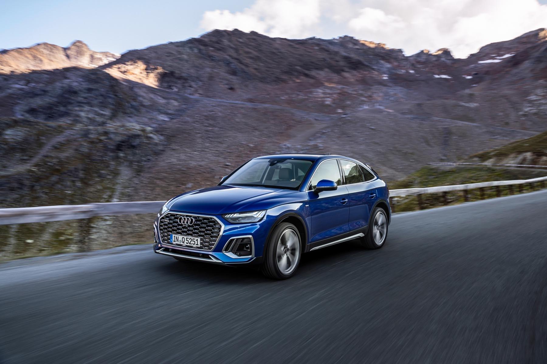 Audi Q5 Sportback coupe review