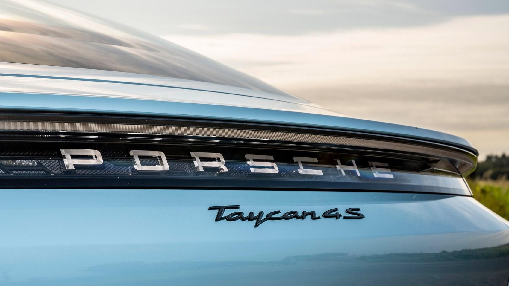taycan 4s rear detail