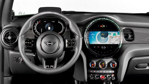 2021 Mini Hatch dashboard