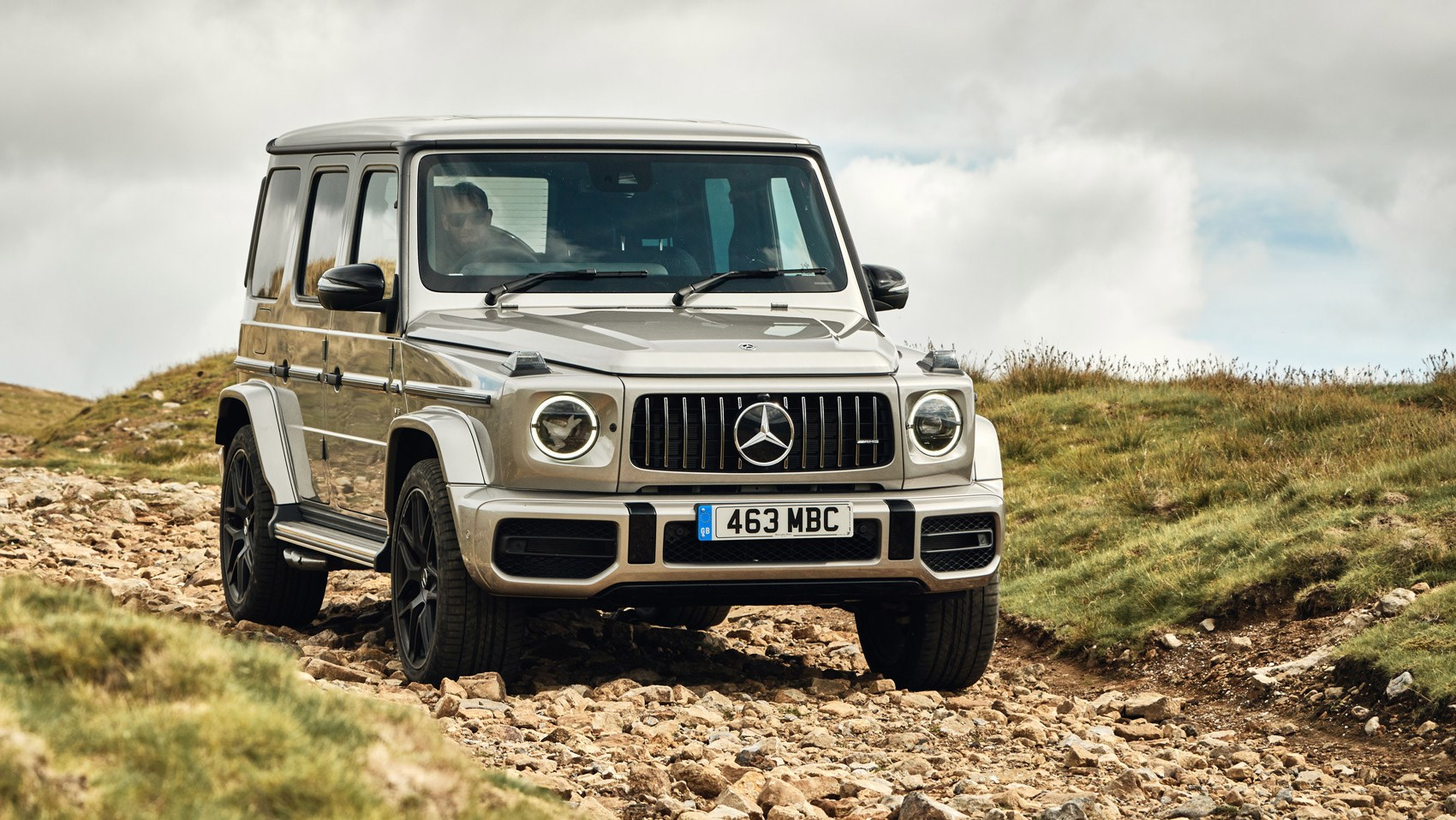 AMG G63 front offroad