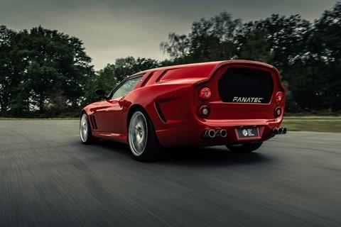 Ferrari Breadvan rear cornering