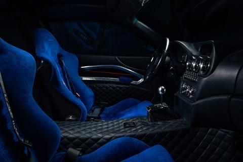 Ferrari Breadvan interior