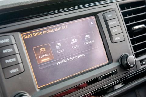 Seat Leon Cupra driving modes