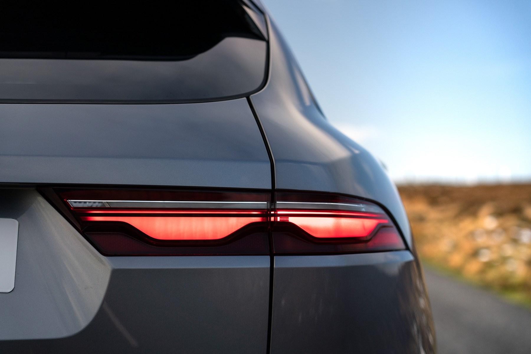 Jaguar F-Pace rear lights 2021