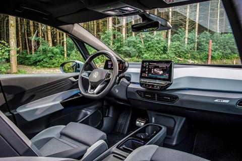vw id3 interior