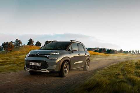 C3 aircross 2021 front offroad