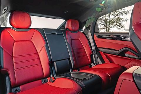 cayenne coupe rear seats