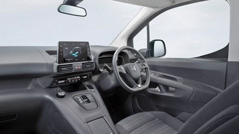 2021 Vauxhall Combo-e Life dashboard