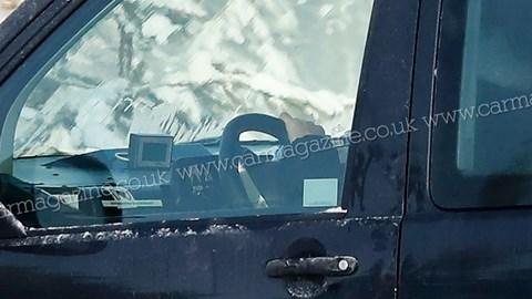 VW ID. Buzz - testing interior