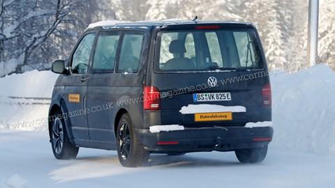 VW ID. Buzz - testing rear