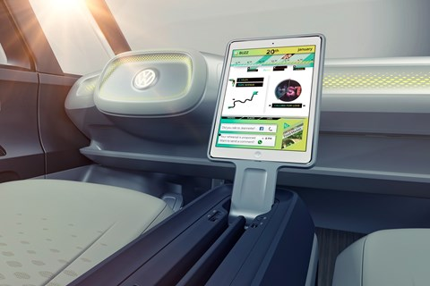 2017 VW I.D. Buzz concept - interior