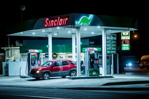 breaking even petrol station