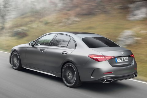 c-class rear tracking