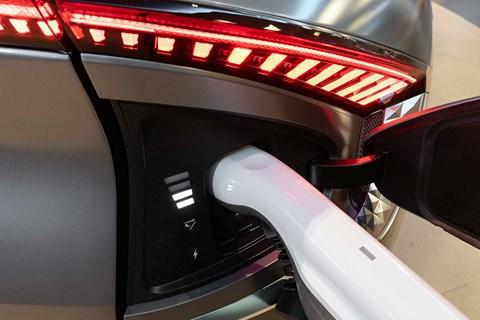 Kia EV6 charging