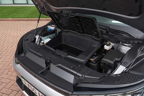 Kia EV6 front storage