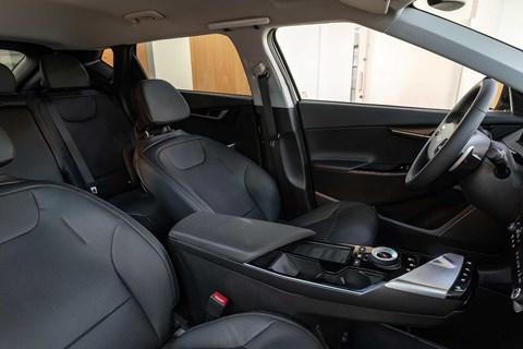 Kia EV6 reclining seats