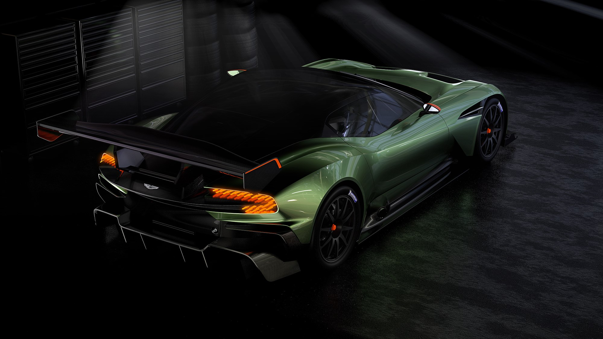 aston martin vulcan unveiled: 24 extreme track-day cars for £1.8m