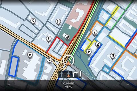 idrive 8 map
