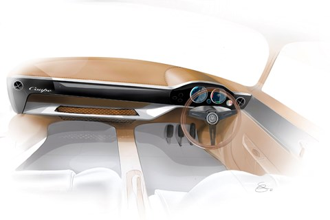 WEVC Coupe interior render