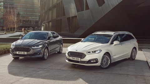 The outgoing Ford Mondeo became available as a hybrid - but soon it'll be a crossover, too