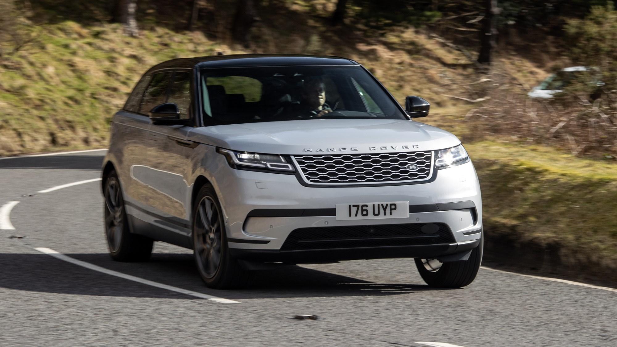 Range Rover Velar front cornering