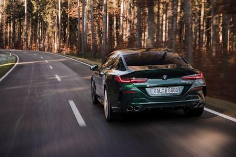 Alpina B8 rear tracking