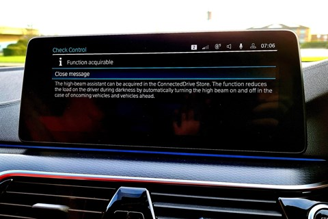 in-car feature buying bmw screen