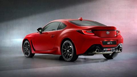 New 2021 Toyota GR86 sports car