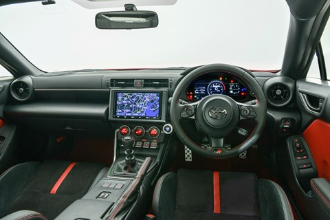 toyota gr86 interior