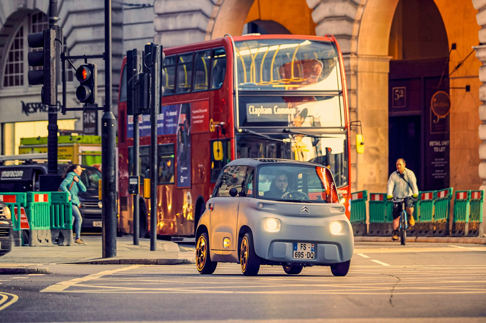 citroen ami london bus