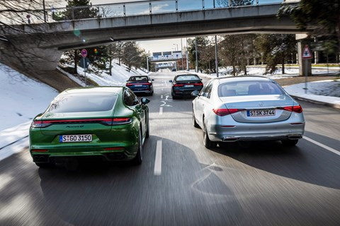 s-class group rear tracking