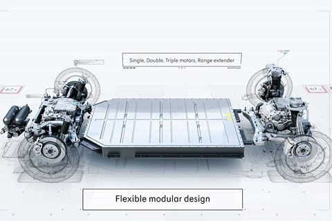 Geely's electrified Sustainable Experience Architecture