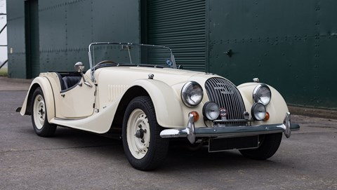 1957 Morgan 4/4 converted to EV by Electrogenic