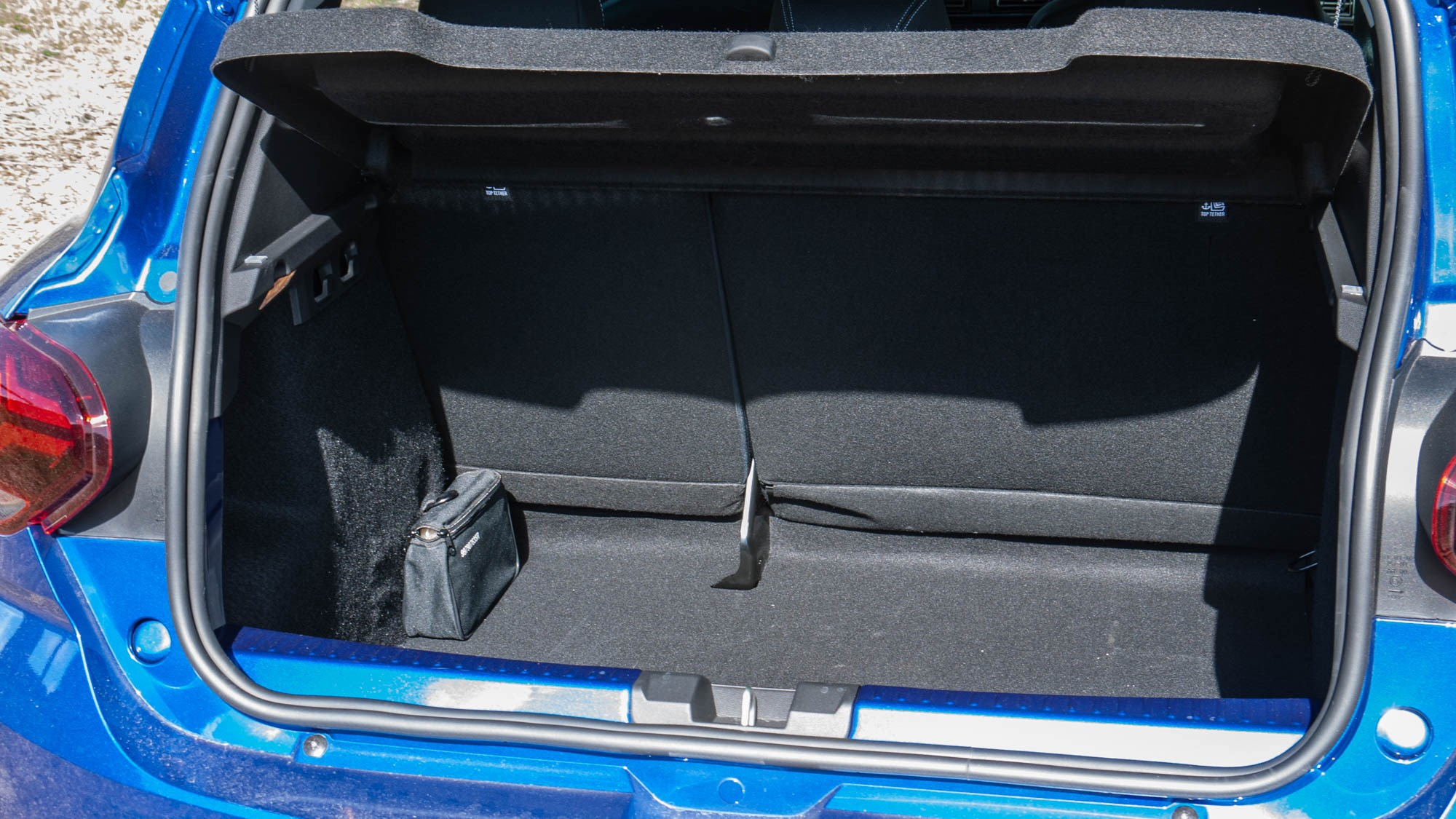 2021 Dacia Sandero boot space