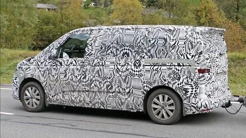 2021 Volkswagen Multivan prototype