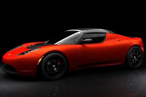 Tesla Roadster was built by Lotus